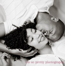 studio photography couple shoot