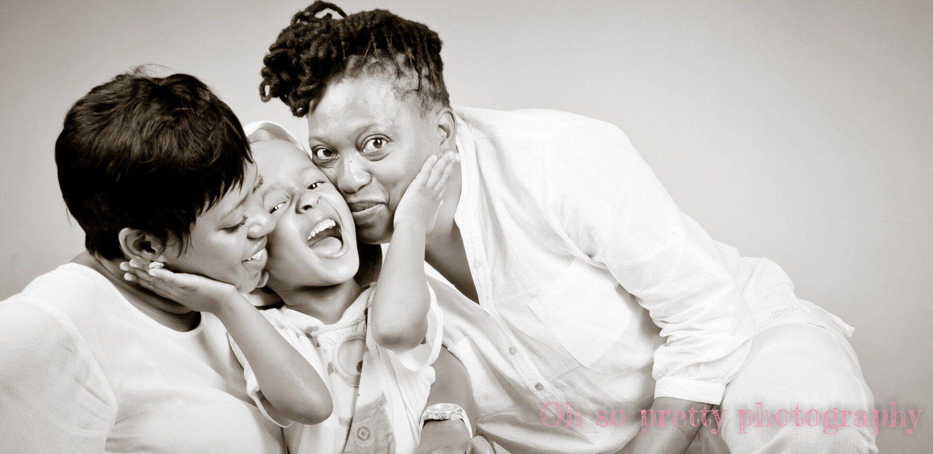 studio photography family shoot