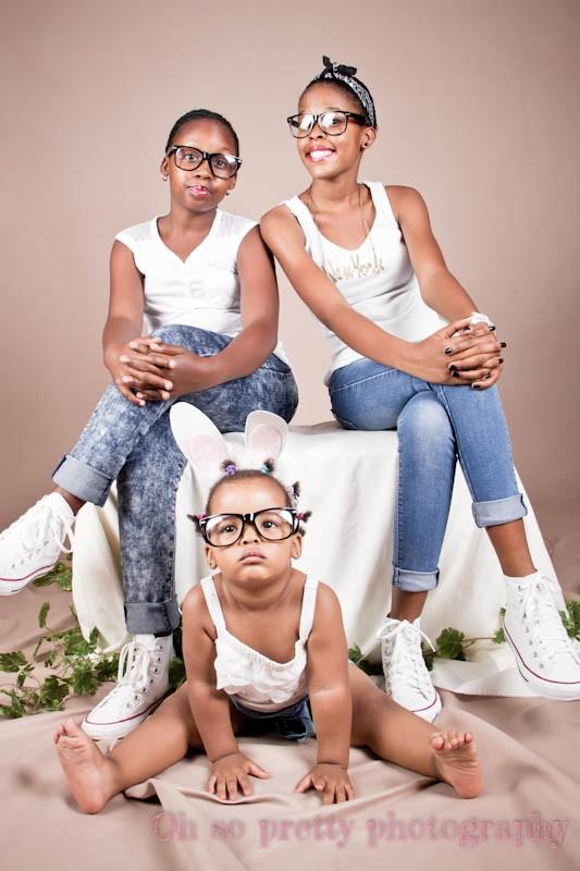 studio family shoot